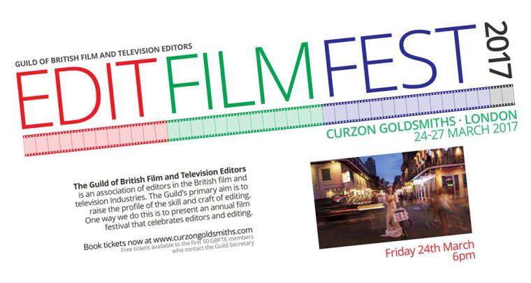 UK PREMIERE AT THE GUILD OF BRITISH FILM & TELEVISION EDITORS FESTIVAL