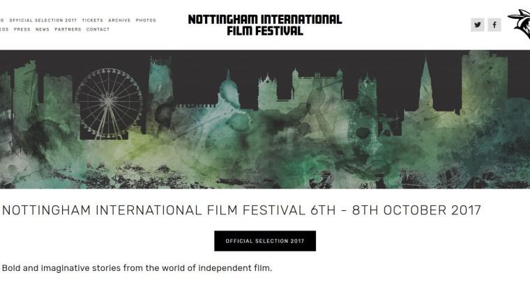 ONAAT SELECTED FOR THE NOTTINGHAM INTERNATIONAL FILM FESTIVAL